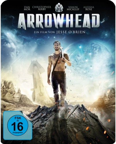 Arrowhead Blu-ray Review Cover