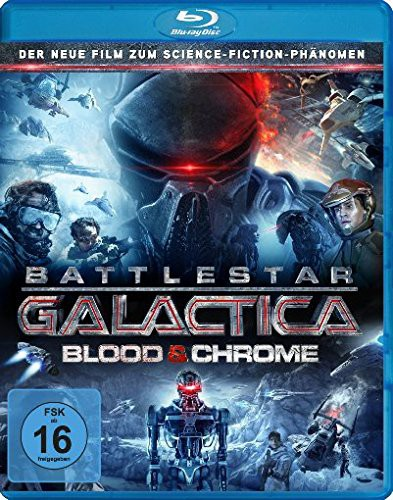 Battlestar - Galactica Blood & Chrome Blu-ray Review Cover