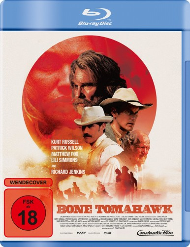 Bone Tomahawk Blu-ray Review Cover