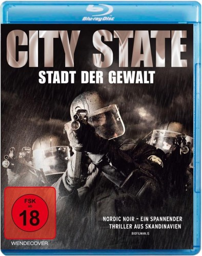 City State - Stadt der Gewalt Blu-ray Review Cover