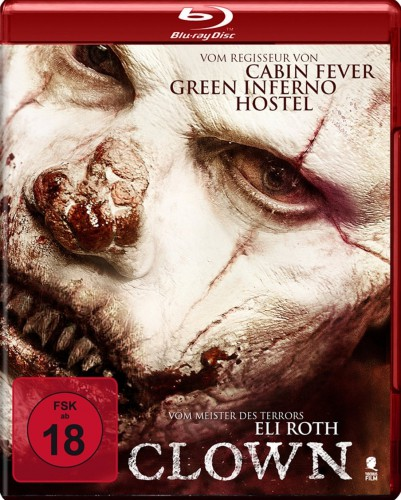 Clown Uncut Blu-ray Review Cover
