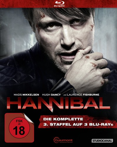 Hannibal die komplette dritte Staffel Season Blu-ray Review Cover