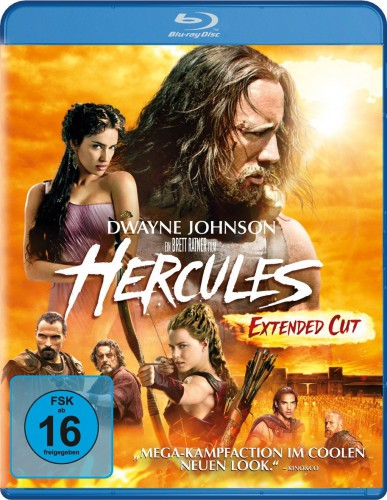 Hercules Extended Cut Blu-ray Review Cover