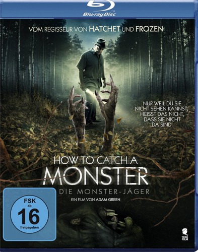 How to Catch a Monster - Die Monster-Jäger Blu-ray Review Cover