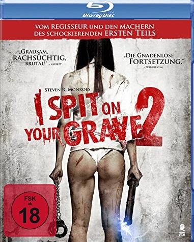 I Spit on Your Grave 2 Blu-ray Review Cover