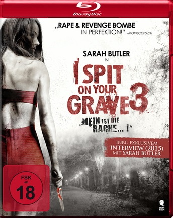 I Spit on Your Grave 3 - Mein ist die Rache Blu-ray Review Cover