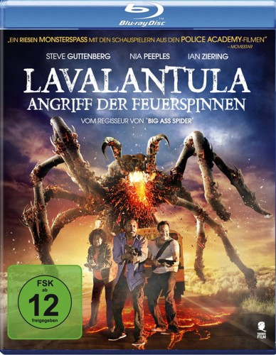 Lavalantula - Angriff der Feuerspinnen Blu-ray Review Cover