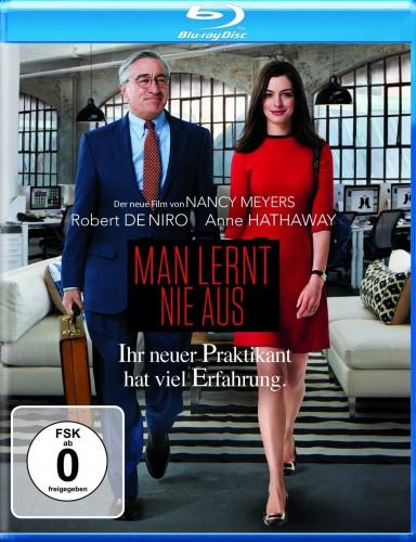 Man lernt nie aus - Ihr neuer Praktikant hat viel Erfahrung Blu-ray Review Cover