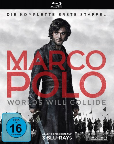 Marco Polo - Worlds Will Collide Season 1 Blu-ray Review Cover