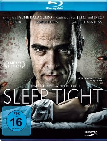 Sleep Tight Blu-ray Review Cover