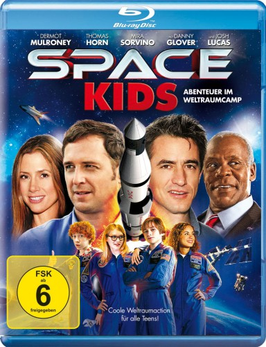 Space Kids - Abenteuer im Weltraumcamp Blu-ray Review Cover