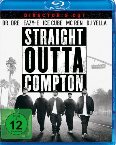 Straight Outta Compton Blu-ray Review Cover