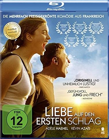 liebe auf den ersten Schlag Blu-ray Review Cover
