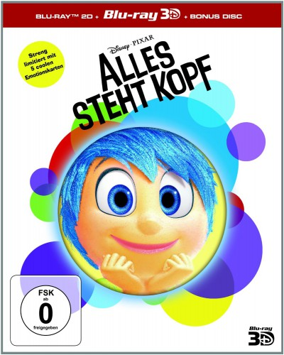 Alles steht Kopf 3D Blu-ray Review Cover