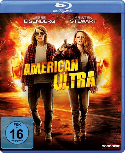 American Ultra Blu-ray Review Cover