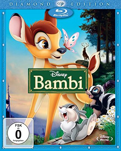 Bambi Diamond Edition Blu-ray Review Cover