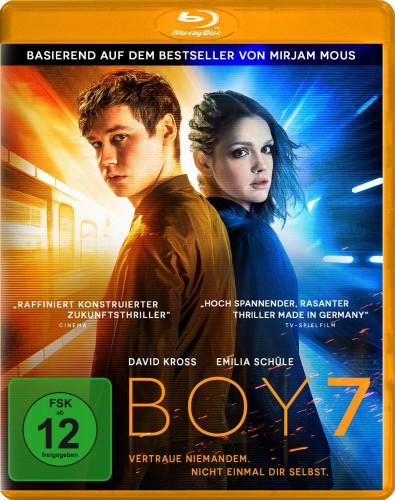 Boy 7 Vertraue niemanden nicht einmal dir selbst Blu-ray Review Cover