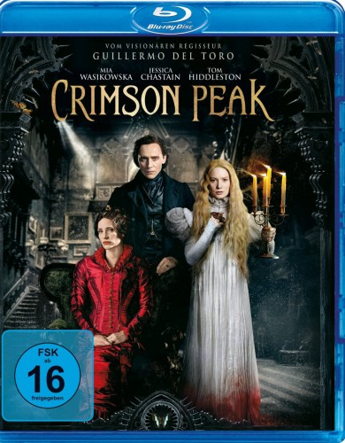Crimson Peak Blu-ray Review Cover