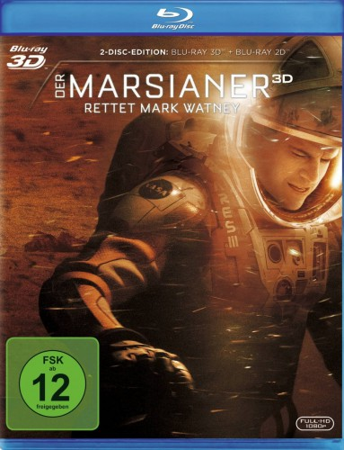 Der Marsianer - Rettet Mark Watney Blu-ray Review Cover
