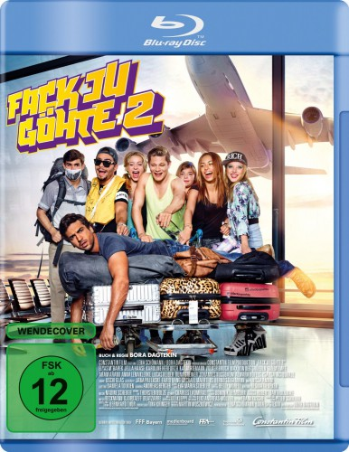 Fack Ju Göhte 2 Blu-ray Review Cover