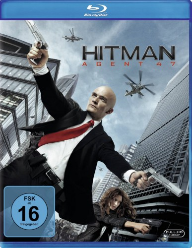 Hitman Agent 47 Blu-ray Review Cover