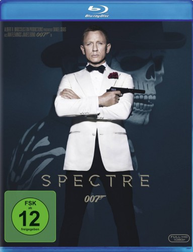 James Bond 007 - Spectre Blu-ray Review Cover