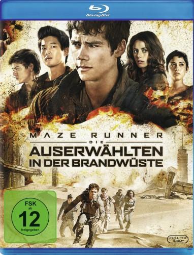 Maze Runner - Die Auserwählten in der Brandwüste Blu-ray Review Cover
