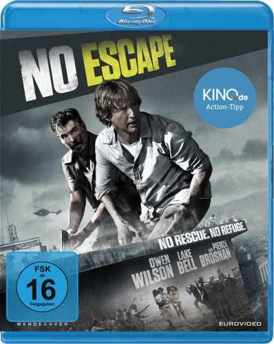 No Escape No Rescue No Refuge Blu-ray Review Cover