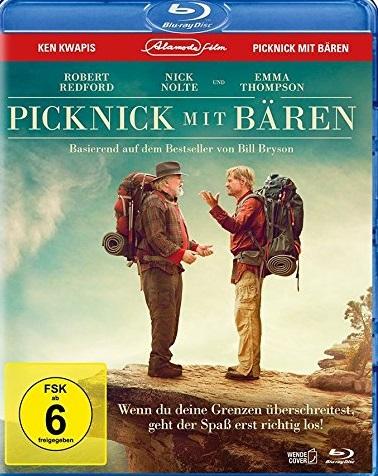 Picknick mit Bären Blu-ray Review Cover