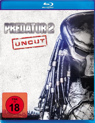 Predator 2 Uncut Blu-ray Review Cover