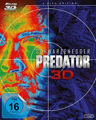 Predator 3D Blu-ray Review Cover