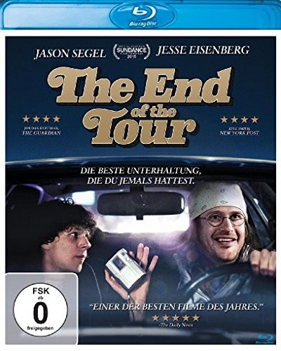 The End of the Tour Blu-ray Review Cover