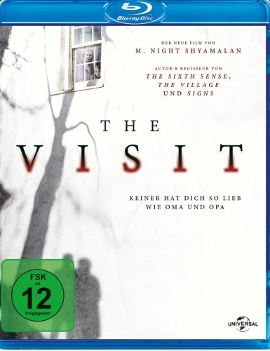 The Visit - Niemand liebt dich so wie Oma und Opa Blu-ray Review Cover