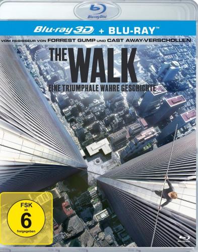 The Walk - eine triumphale wahre Geschichte 3D Blu-ray Review Cover