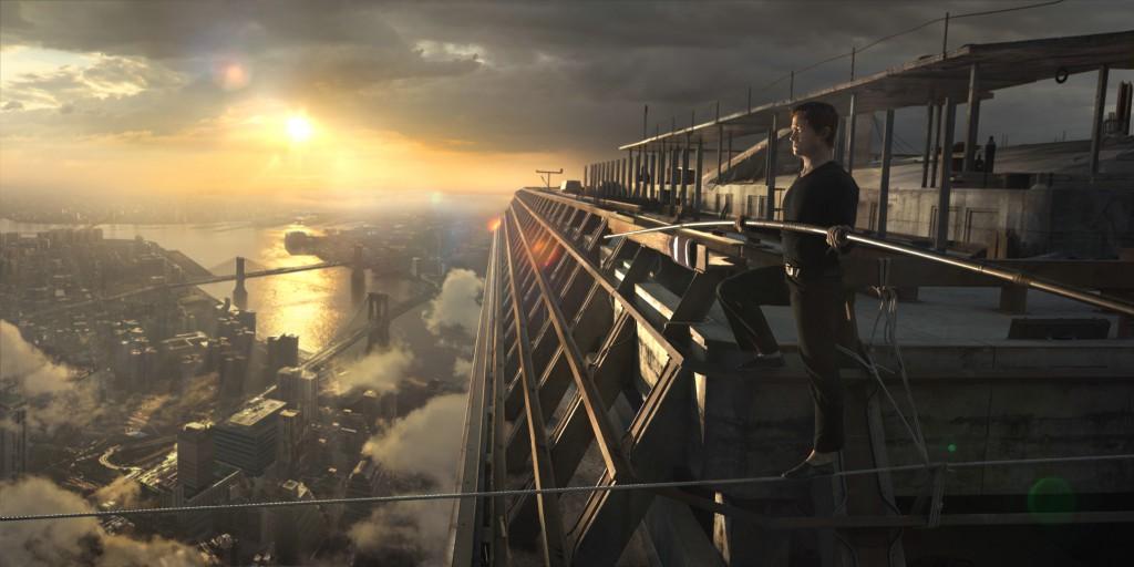 The Walk - eine triumphale wahre Geschichte 3D Blu-ray Review Szene 6