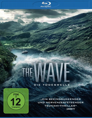 The Wave - Die Todeswelle Bolgen Blu-ray Review Cover