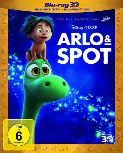 Arlo & Spot 3D Blu-ray Review Cover