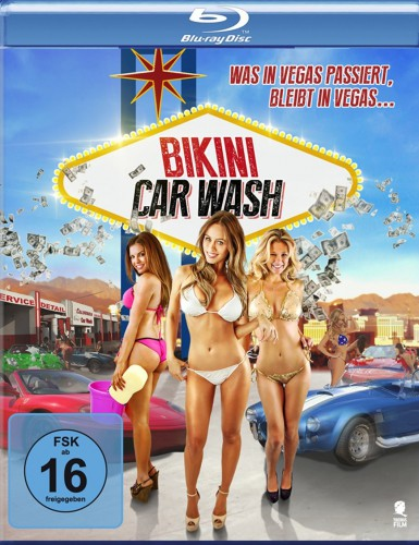 Bikini Car Wash - Was in Vegas passiert bleibt in Vegas Blu-ray Review Cover