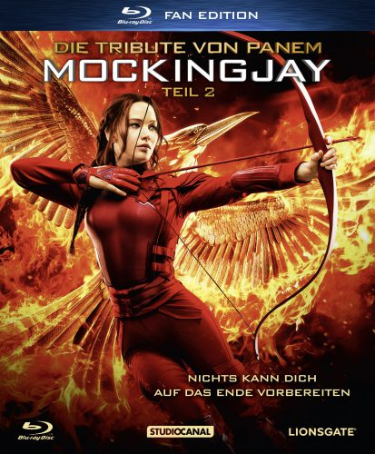 Die Tribute von Panem - Mockingjay 2 Blu-ray Review Cover