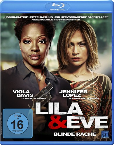 Lila & Eve - Blinde Rache Blu-ray Review Cover