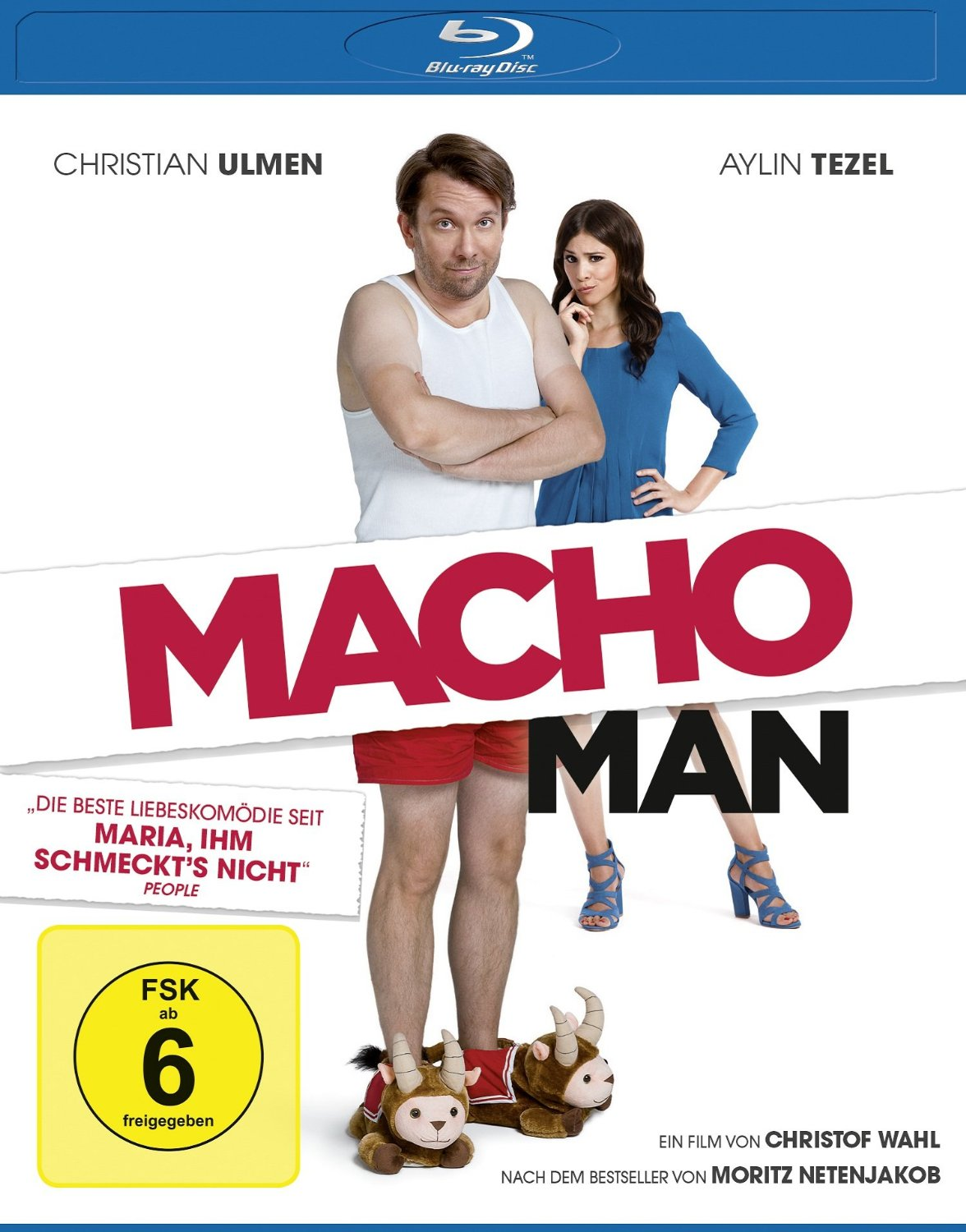 Macho Man Blu Ray Review Rezension Kritik Christian Ulmen