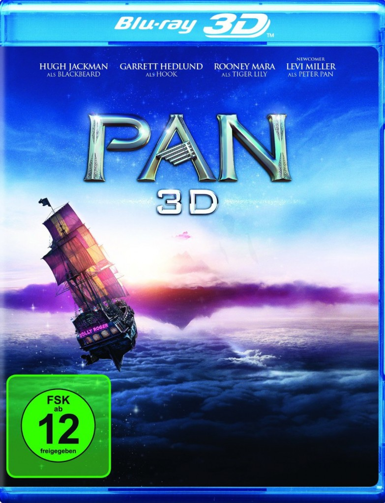 Pan 3D Blu-ray Review Cover