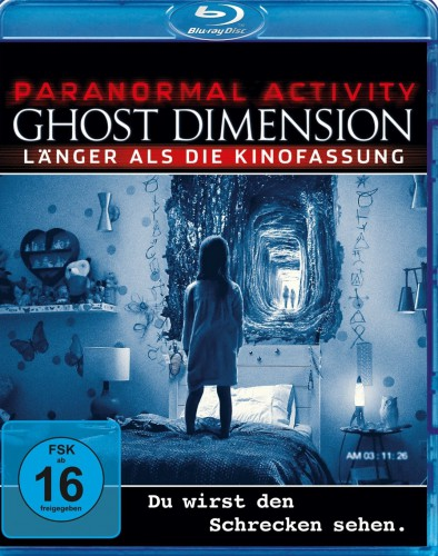 Paranormal Activity Ghost Dimension Blu-ray Review Cover