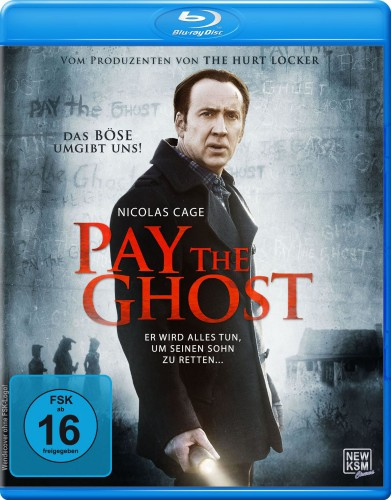 Pay the Ghost Blu-ray Review Cover