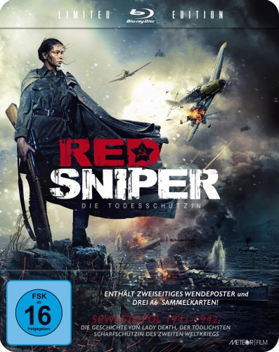Red Sniper - Die Todesschützin Blu-ray Review Cover