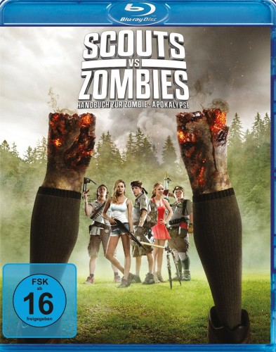 Scouts vs. Zombies - Handbuch zur Zombie Apokalypse Blu-ray Review Cover