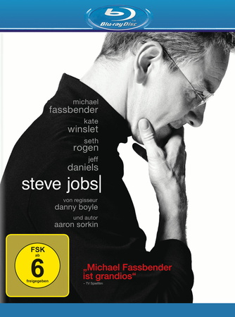 Steve Jobs Blu-ray Review Cover