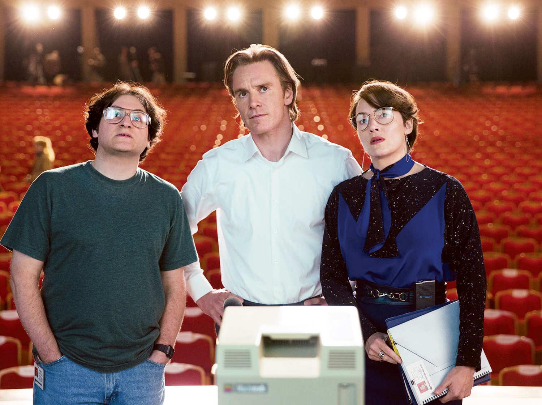 Steve Jobs Blu Ray Review Rezension Kritik Michael Fassbender