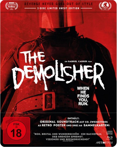 The Demolisher - When He finds you, run Blu-ray Review Cover