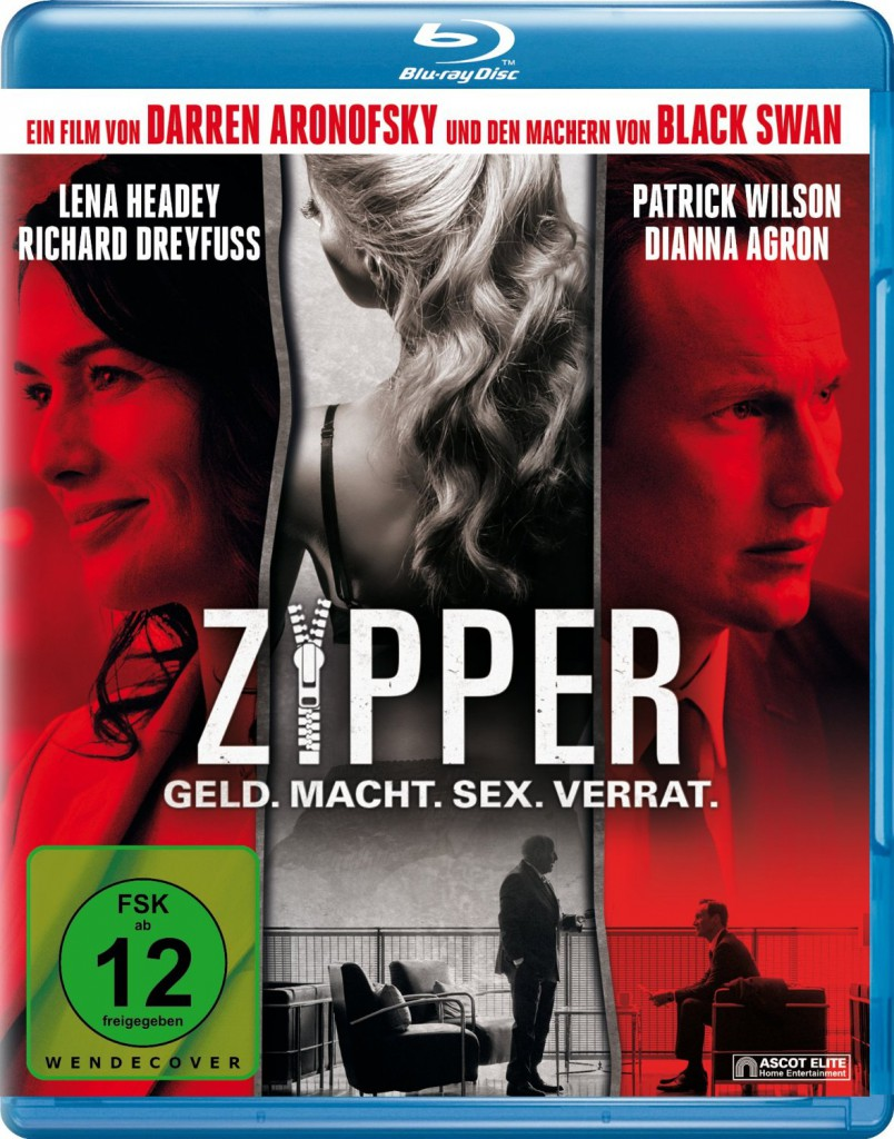 Zipper - Geld. Macht. Sex. Verrat. Blu-ray Review Cover